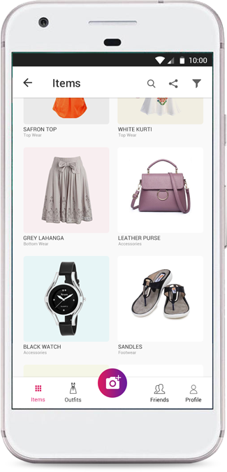 What's in my Closet App Home Image